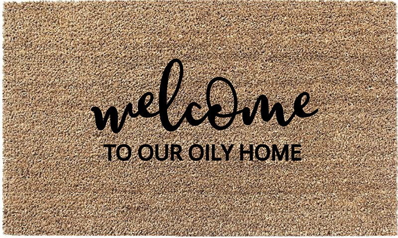 Oily Home Coir Doormat