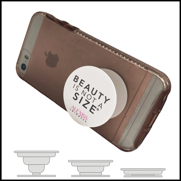 Beauty is Not a Size Phone/Tablet Holder (Pop Socket)