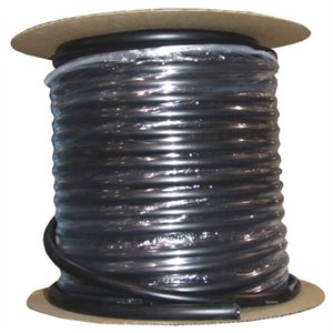 "Black flexible hose 1/2"" (per foot)"