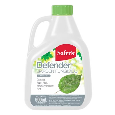 Safer's Defender Garden Fungicide concentrate 500ml