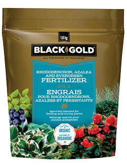 Black Gold Rhododendron, Azalea and Evergreen Fertilizer 5-5-3 1.8kg