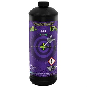 Nutri+ pH up 1L (15% potassium carbonate)