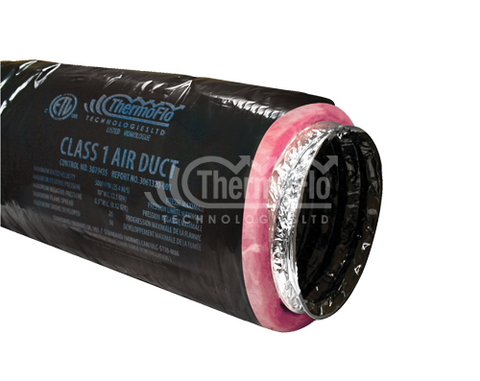 "ThermoFlo SR Insulated Duct 4"" x 25'"