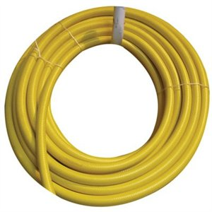 "Yellow high pressure hose 3/4"" (per foot)"