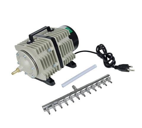 Active Aqua Commercial Air Pump, 12 Outlets, 112W, 110 L/min