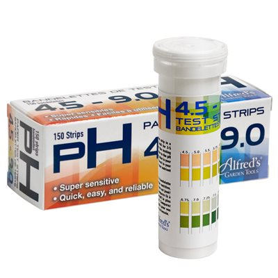 Alfred pH Test Strips 4.5-9.0