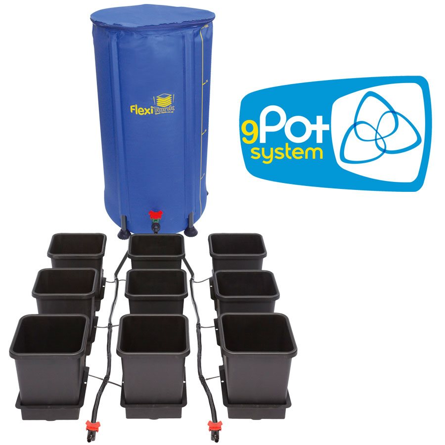 AutoPot 9 Pot System with Flexi-Tank 100L