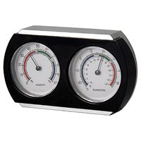 Bios Analog Thermometer and Hygrometer