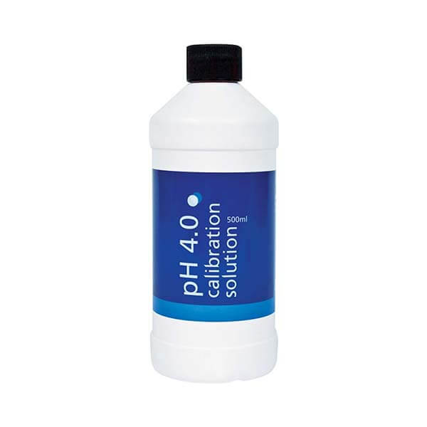 Blue Lab pH 4.0 Calibration Solution 500 ml