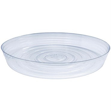 Clear Plastic Saucer 25""