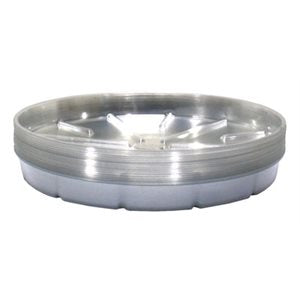 Clear Plastic Saucer 10""