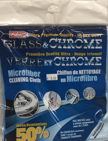 Doktor Doom Glass & Chrome Cleaning Cloth