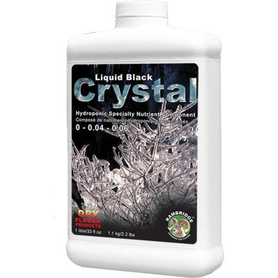 Dry Flower Products Liquid Black Crystal 1L 0-0.04-0.06