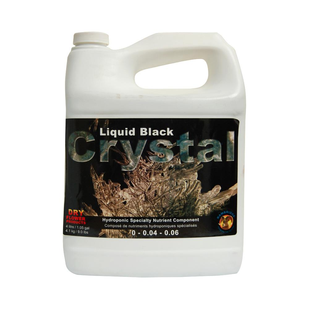 Dry Flower Products Liquid Black Crystal 4L 0-0.04-0.06