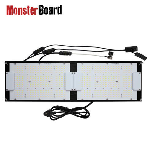 Geeklight Monster Board LM301H/LM301B mix 240W LED Board 3000k w 660nm UV IR