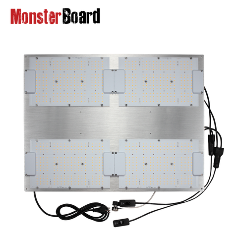 Geeklight Monster Board LM301H/LM301B Mix 480W LED Board 3000k w 660nm UV IR