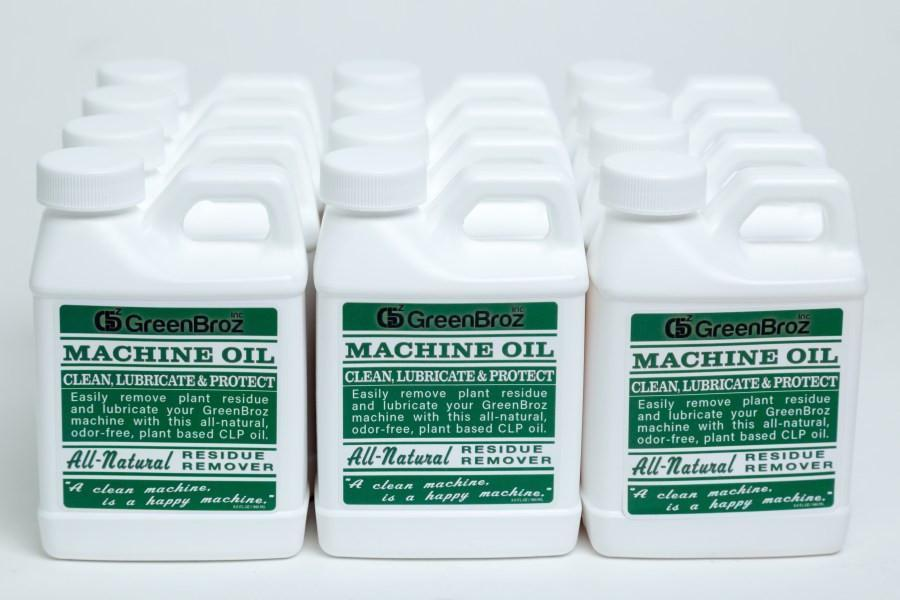 GreenBroz Machine Oil 8oz