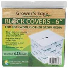 "Growers Edge Block Covers 6"" 40pk"