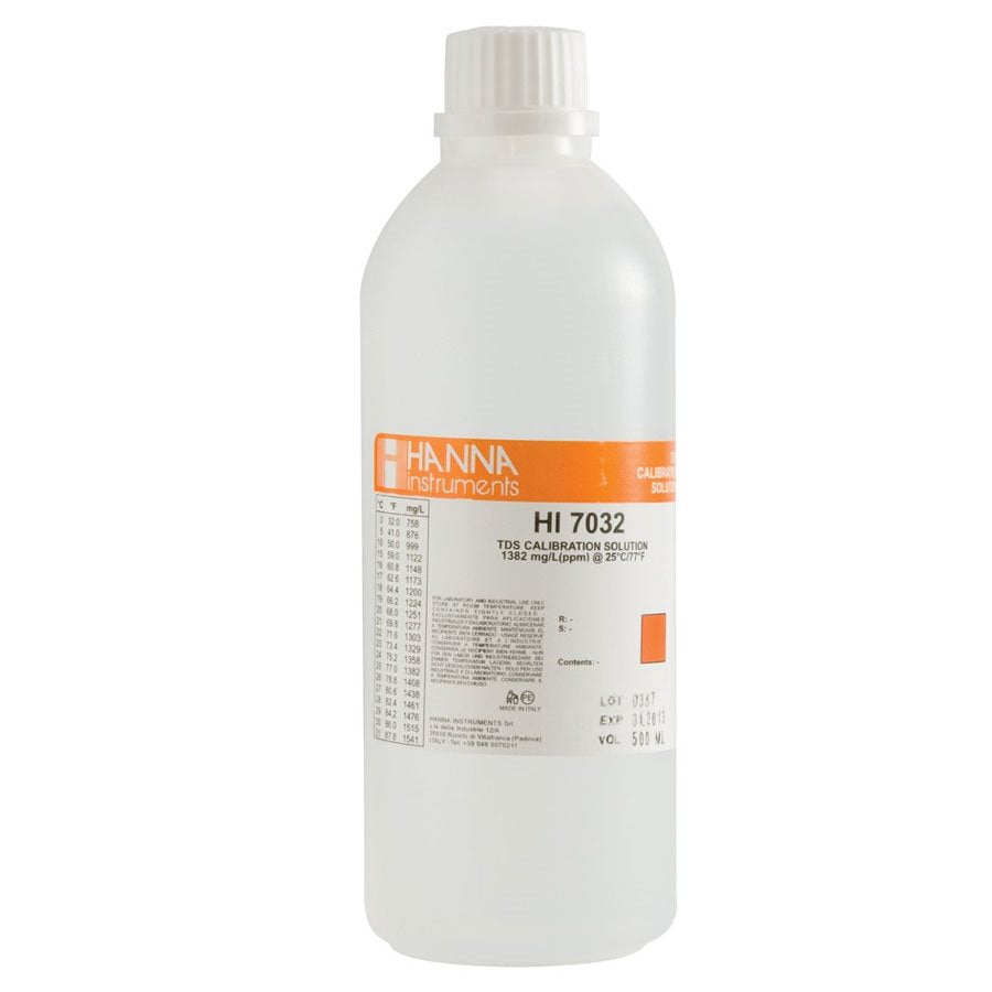 Hanna Hi7032L TDS Solution 1382PPM  500ml
