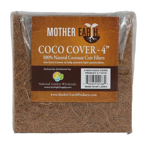 "Mother Earth Coco Covers 4"" 10pk"