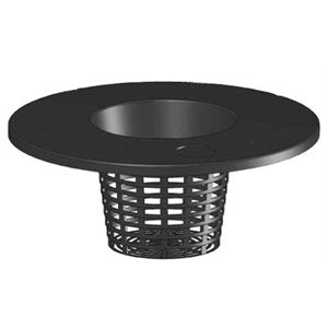 Pail Lid with Net Pot 6""
