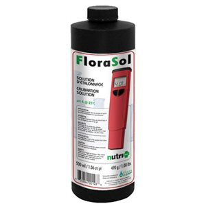 Florasol pH 4 calibration solution 500 ml