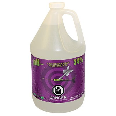 Nutri+ pH down 4L (34% phosphoric acid)