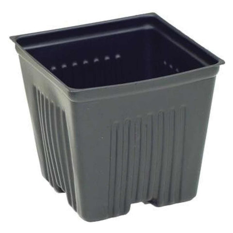 "Dura Pot 4""x4""x3.5"" Plastic Pot Single"