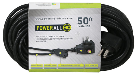 PowerAll 50' Extension Cord 14 Guage with Breaker
