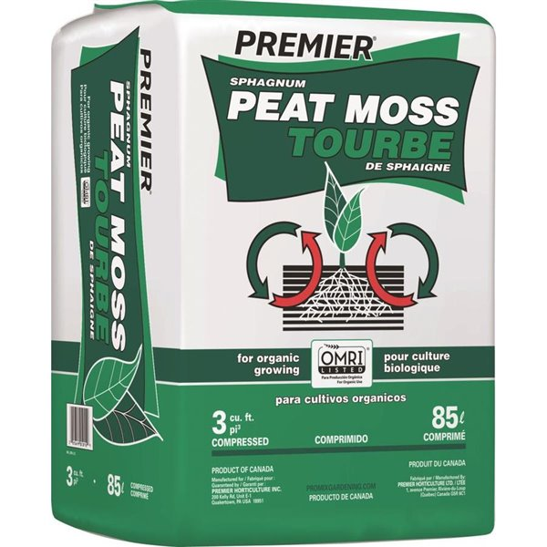 Premier Peat Moss 108L Compressed (PICKUP AT STORE ONLY)