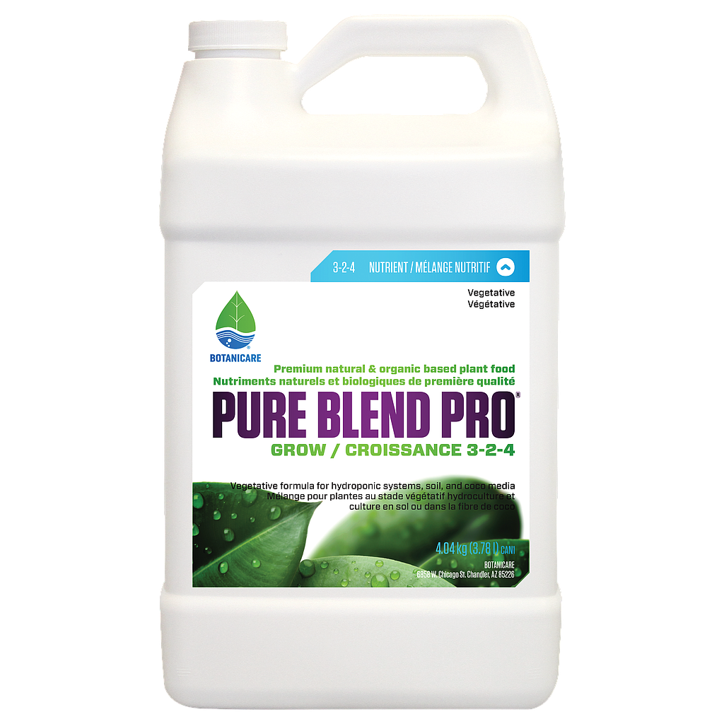 Pure Blend Pro Grow 3-2-4 4L / 1Gal
