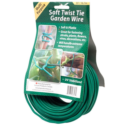 Soft Twist Garden Wire 55'
