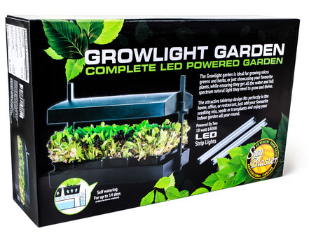 Sunblaster LED Growlight Garden - Black