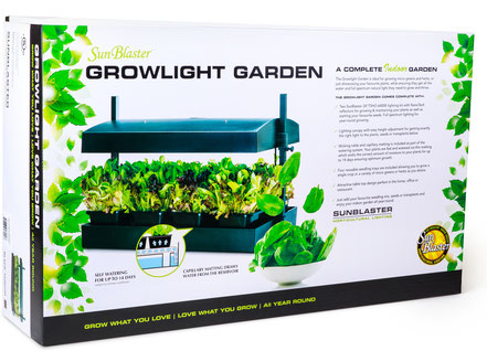 Sunblaster T5HO Growlight Garden - Black