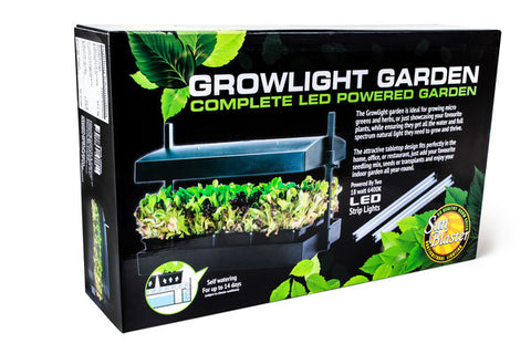 Sunblaster LED Growlight Micro Garden - Black