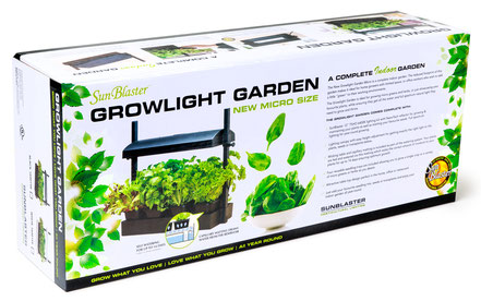 Sunblaster T5HO Growlight Micro Garden - Black