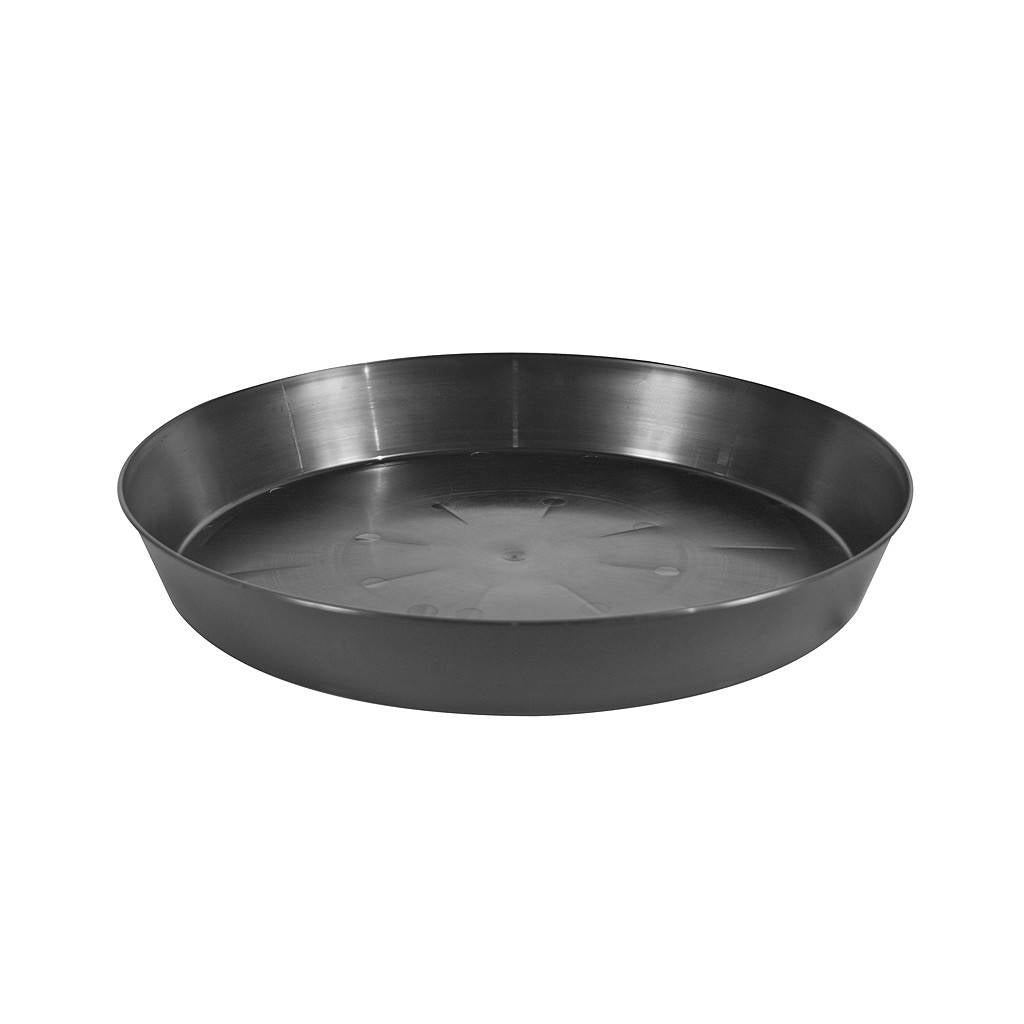 Black Hard Plastic Saucer 25""