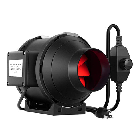 Taizhou 4 Inch Silent Inline Fan with Speed Control
