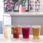 Summer seasonal favorite loose leaf iced teas. Organic berry flavors, pina colada, passion fruit and watermelon notes.