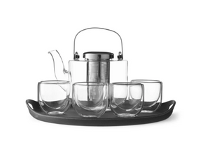 VIVA SCANDINAVIA Glass Tea Set