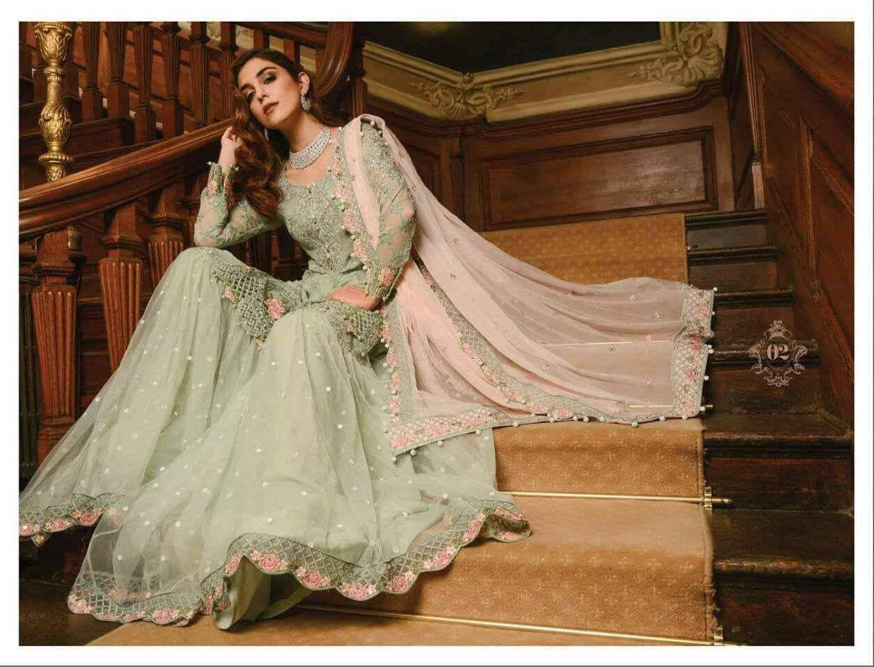 d8bc3701a87 Maria B Wedding Collection 02 – Blossoms by Azz