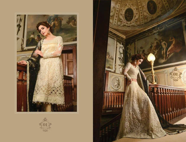 4ced53051f5 Maria B Wedding Collection 01 – Blossoms by Azz