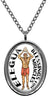 My Altar Elegua Orisha for Miracles Stainless Steel Pendant Necklace
