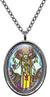 My Altar Lord Vishnu of Strength, Grace & Protection Stainless Steel Pendant Necklace