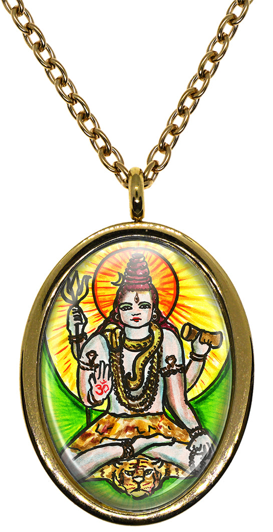 My Altar Lord Shiva for Supreme Consciousness Stainless Steel Pendant Necklace