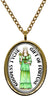 My Altar Goddess Tyche Gift of Fortune Stainless Steel Pendant Necklace