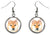 Shiba Inu Dog Silver Hypoallergenic Stainless Steel Earrings