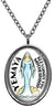 My Altar Yemaya Orisha for Blessings of Motherhood Stainless Steel Pendant Necklace