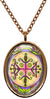 My Altar Papa Legba Veve Voodoo Magick Gatekeeper Opens The Gates Stainless Steel Pendant Necklace