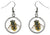 Bumble Bee Silver Hypoallergenic Stainless Steel Earrings